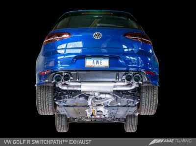 AWE Tuning Volkswagen Mk7 Golf R Exhaust Suite