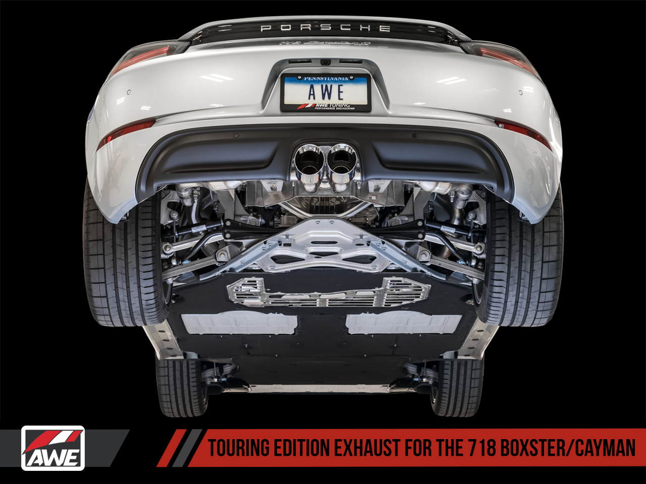 AWE Tuning Porsche 718 Boxster / Cayman Exhaust Suite
