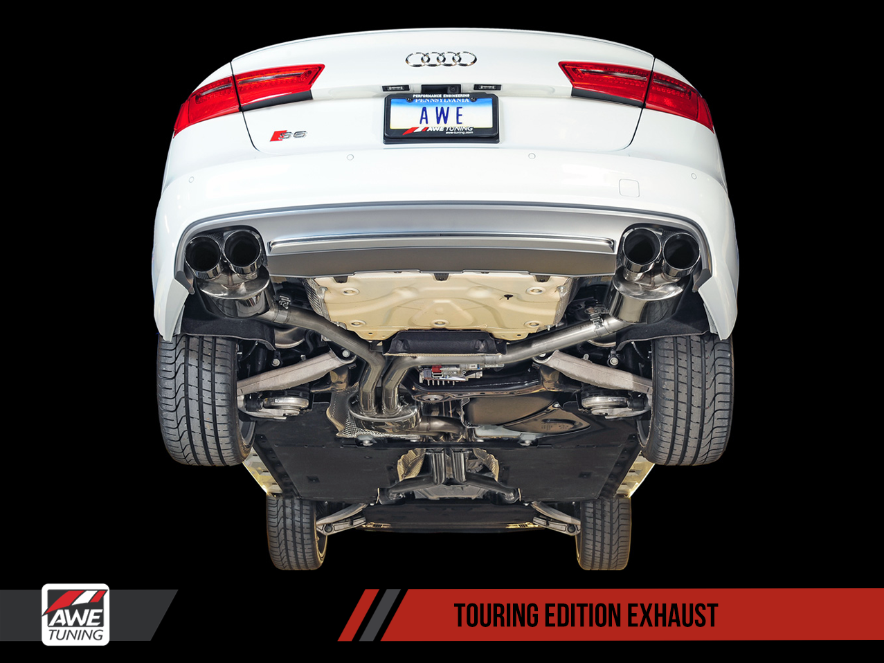 AWE Exhaust Suite for Audi S6 4.0T