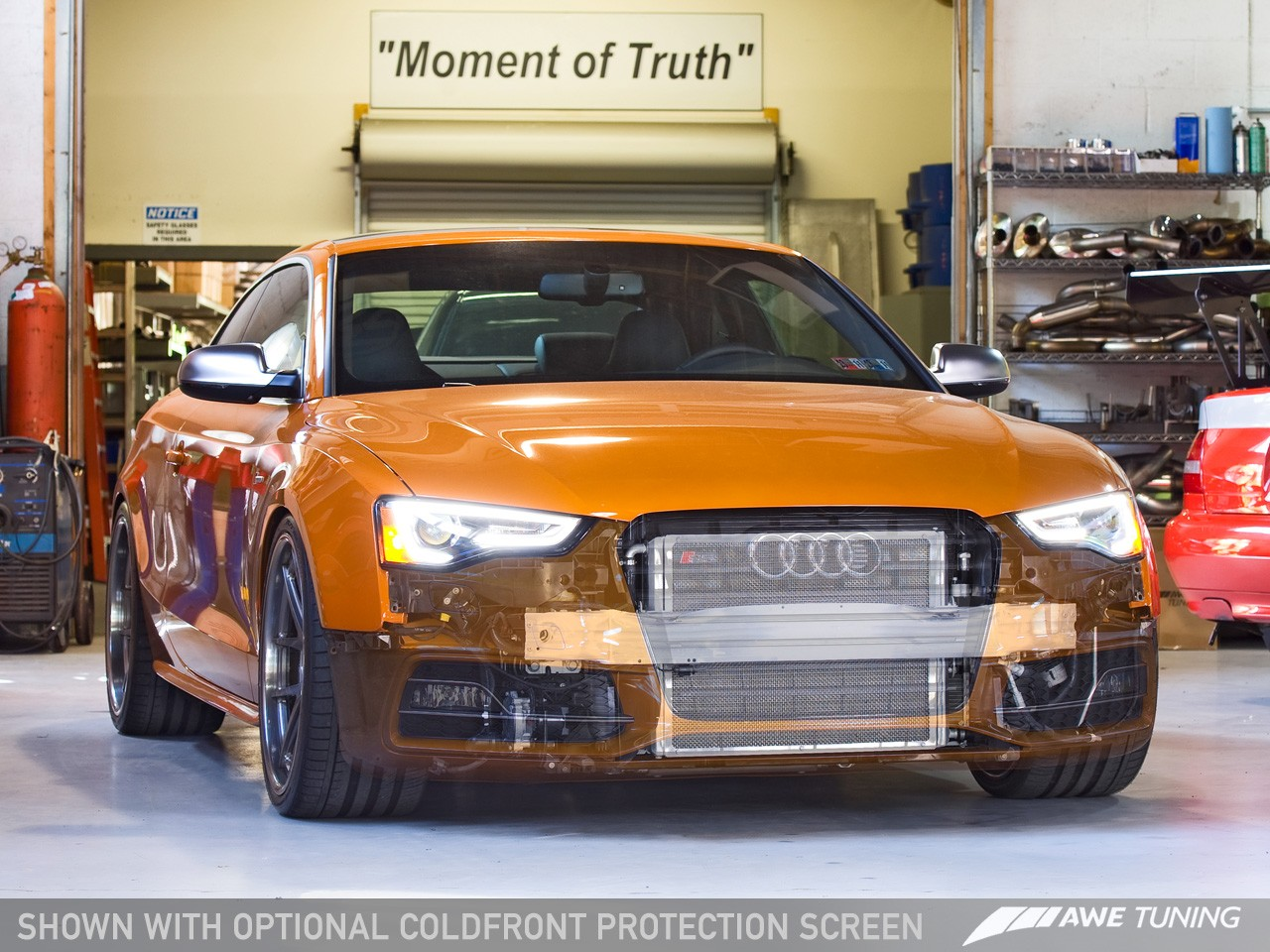 AWE ColdFront System for Audi