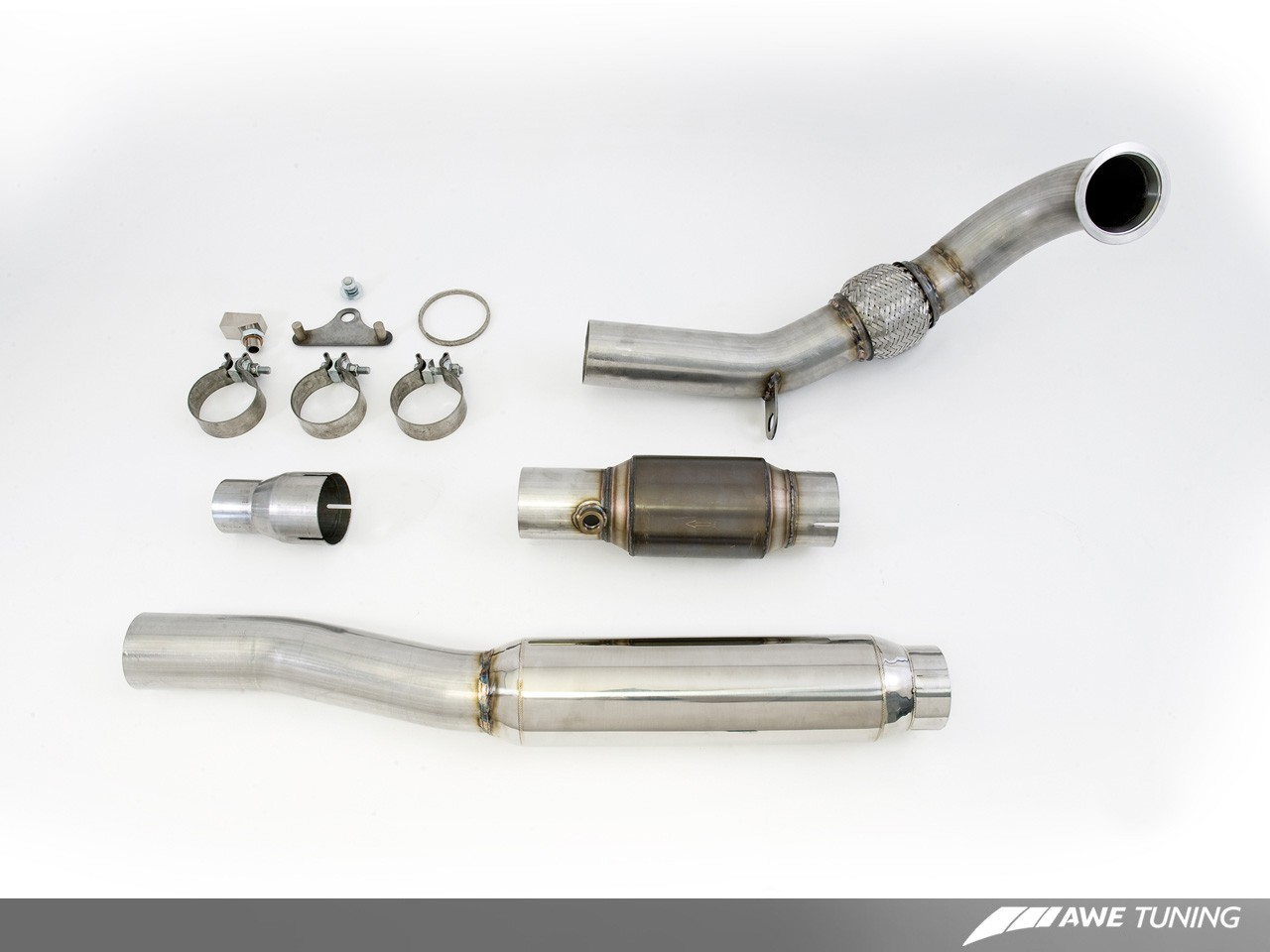 AWE Tuning 2.0T Jetta GLI Performance Downpipe