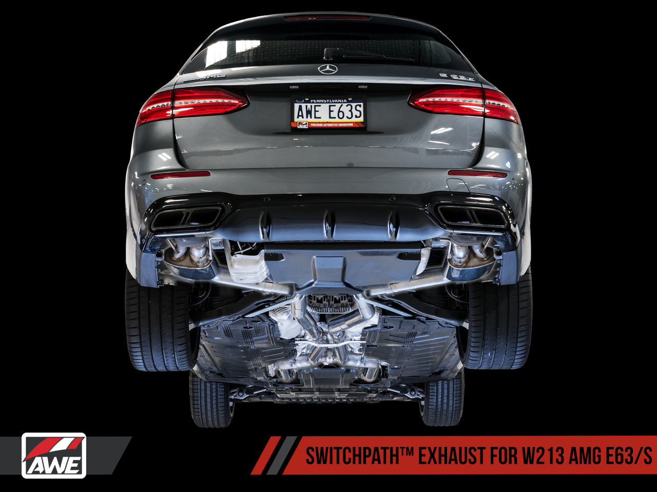 AWE Exhaust Suite for Mercedes-Benz W213 AMG E63