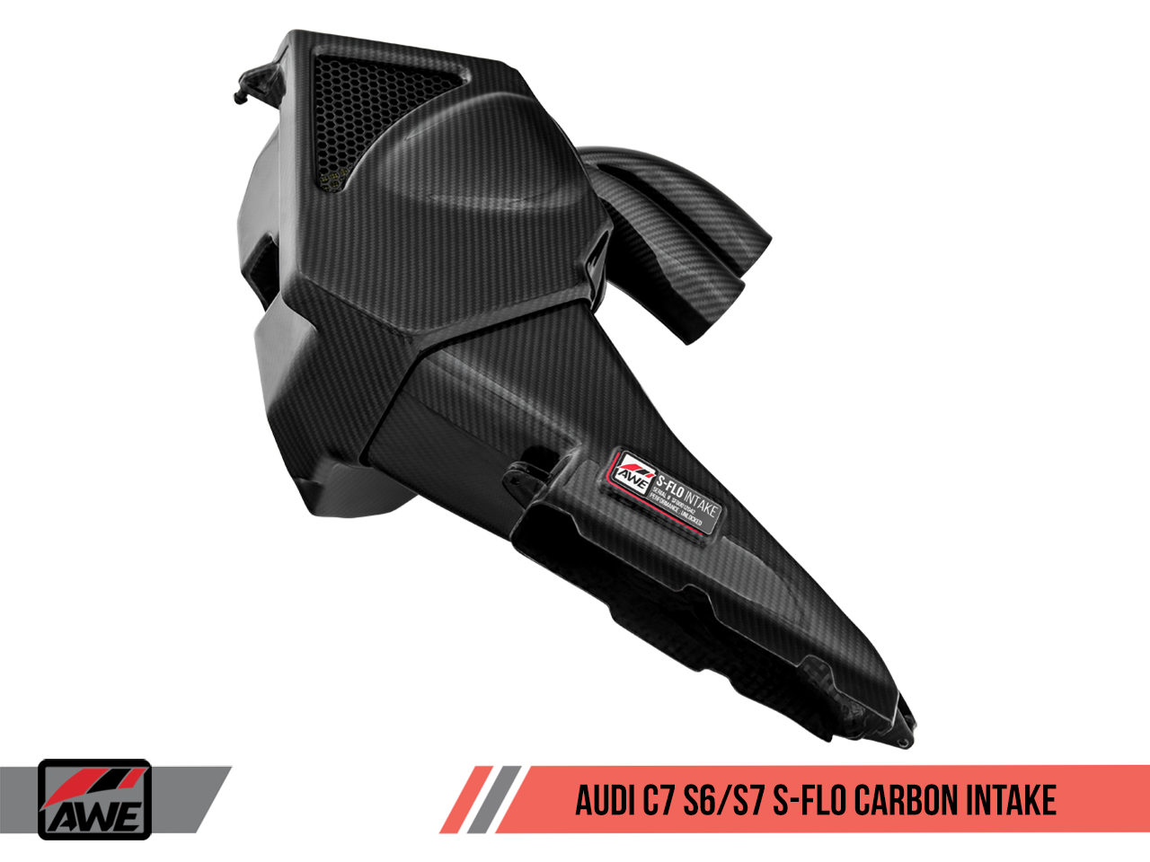 AWE S-FLO CARBON INTAKE FOR AUDI S6 / S7 4.0T