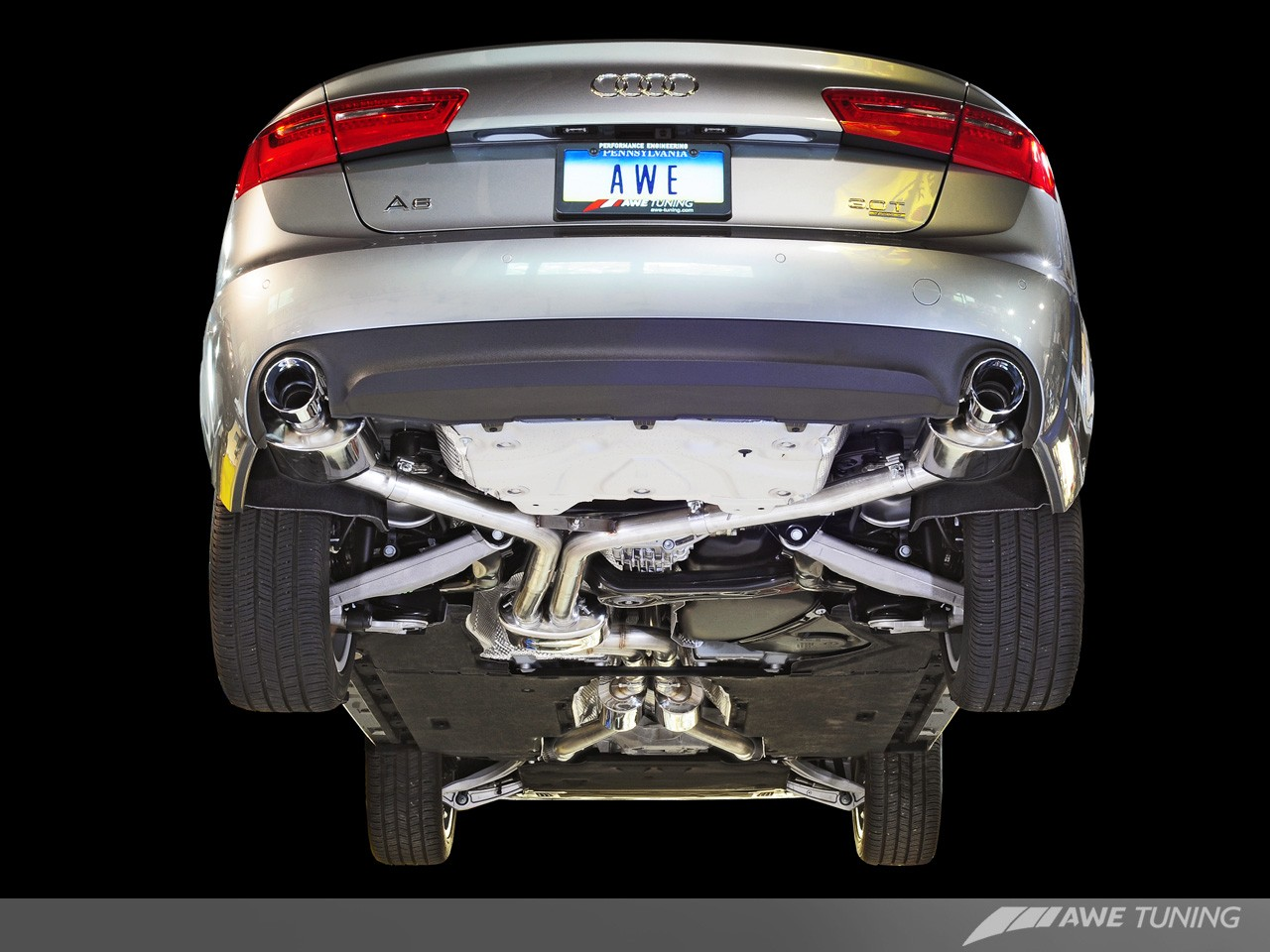 AWE Exhaust Suite for Audi C7 A6