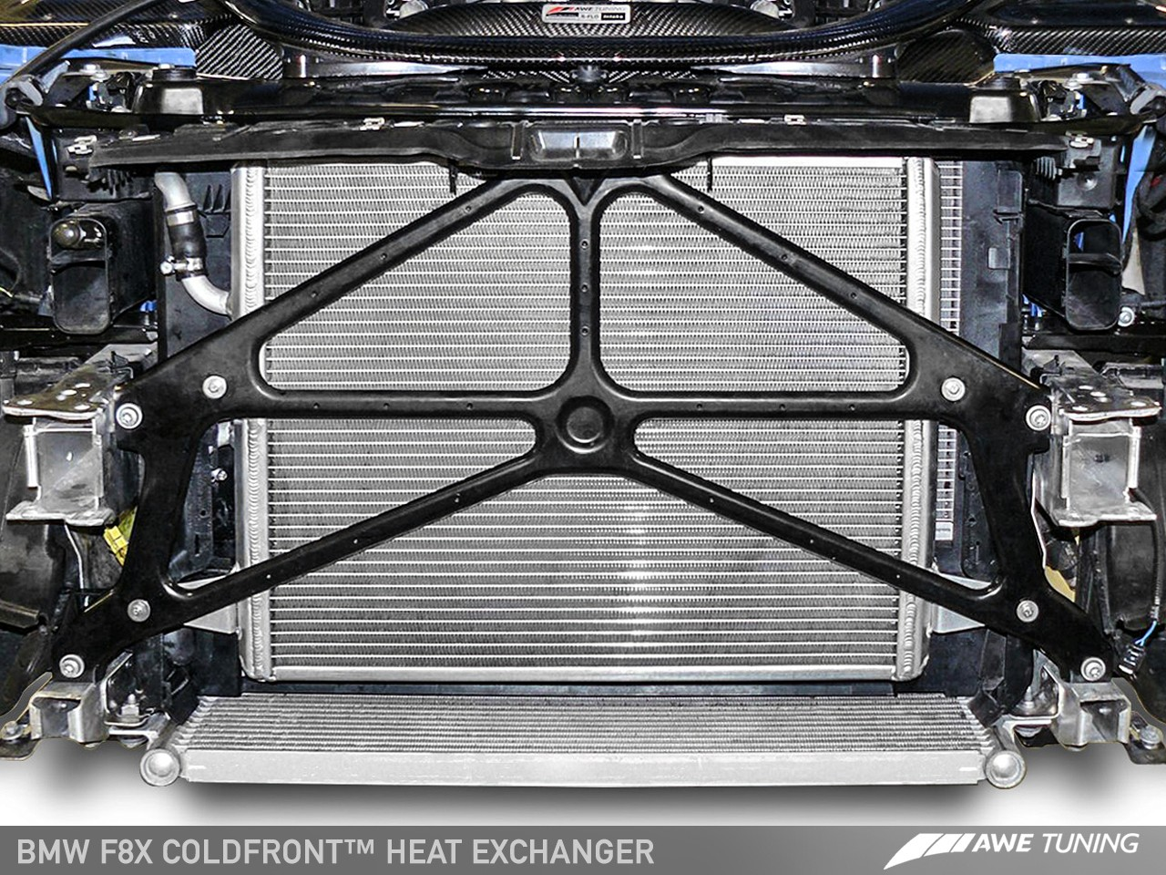 AWE Tuning BMW F8X M3/M4 Coldfront™ Heat Exchanger