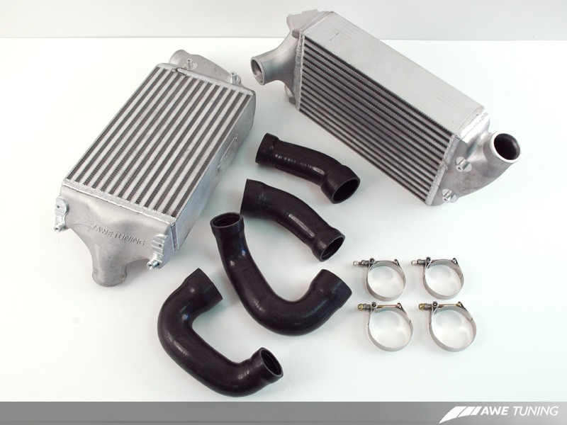 AWE Performance Intercoolers - Porsche 997.2 Turbo / S
