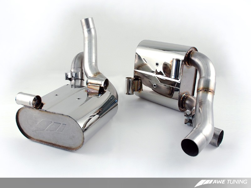 AWE Tuning 997.2 Performance Muffler Set