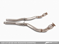 AWE Tuning 3.0T Q5/SQ5 Non-Resonated Downpipes