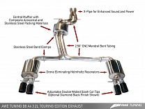 AWE Tuning A4 3.2L Touring Edition Performance Exhaust