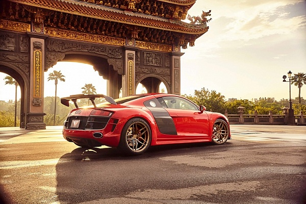 2012 Audi R8 Widebody | Forge8 FR5 Bronze